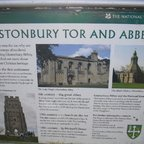 Glastonbury Tor - Sign - Schild