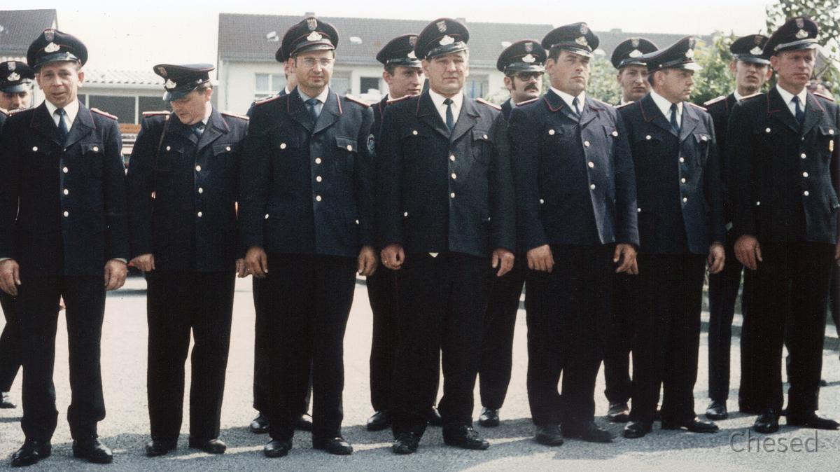 Feuerwehr Königstädten - 40. Jubiläum 5. bis 8.6.1970