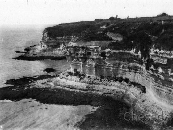 Royan 1940 - MESCHERS - Les grottes - Les Falaises