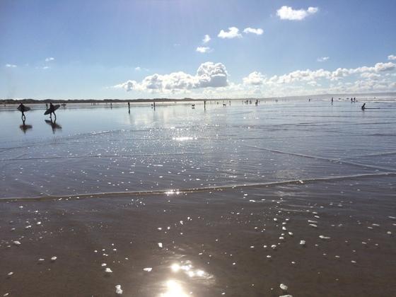 Saunton Beach - Croyde - bei Ebbe