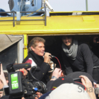 David Hasselhoff - Berlin - East Side Gallery - 03