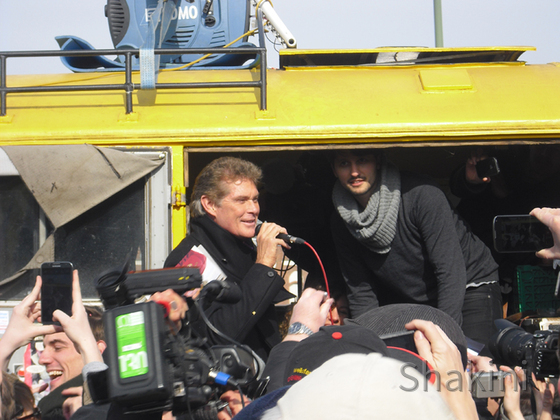 David Hasselhoff - Berlin - East Side Gallery
