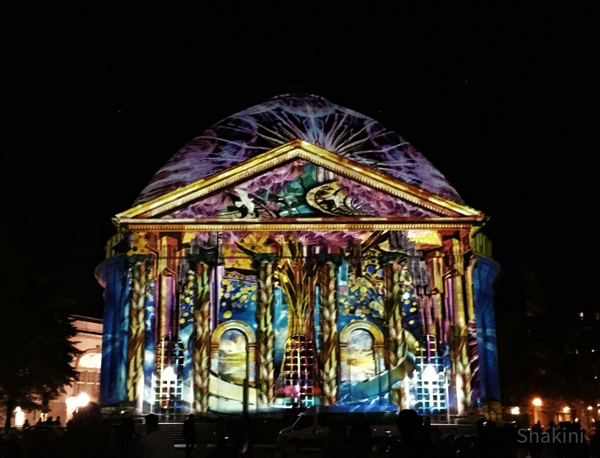 Festival of Lights 2019 - St.-Hedwigs-Kathedrale am Bebelplatz