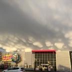 Mammatus Wolken – Brüste am Himmel