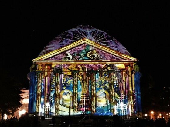 Festival of Lights 2019 - St.-Hedwigs-Kathedrale am Bebelplatz