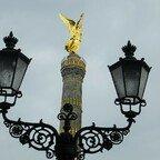 Siegesgöttin Viktoria - Siegessäule - Goldener Stern - Berlin
