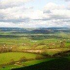 Glastenbury - Die Grafschaft Somerset
