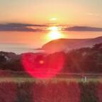 Wales - Sonnenuntergang