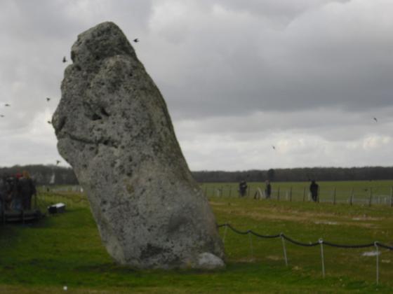 Stonehenge - Riesiger Fersenstein