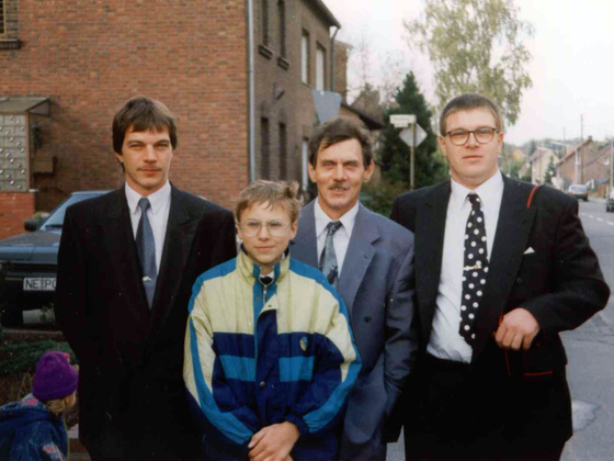 Heinz Gode und seine Kinder
