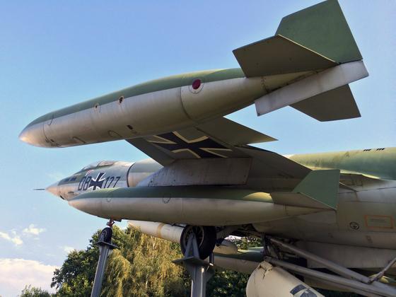 Lockheed F-104G ZELL mit Atomwaffen