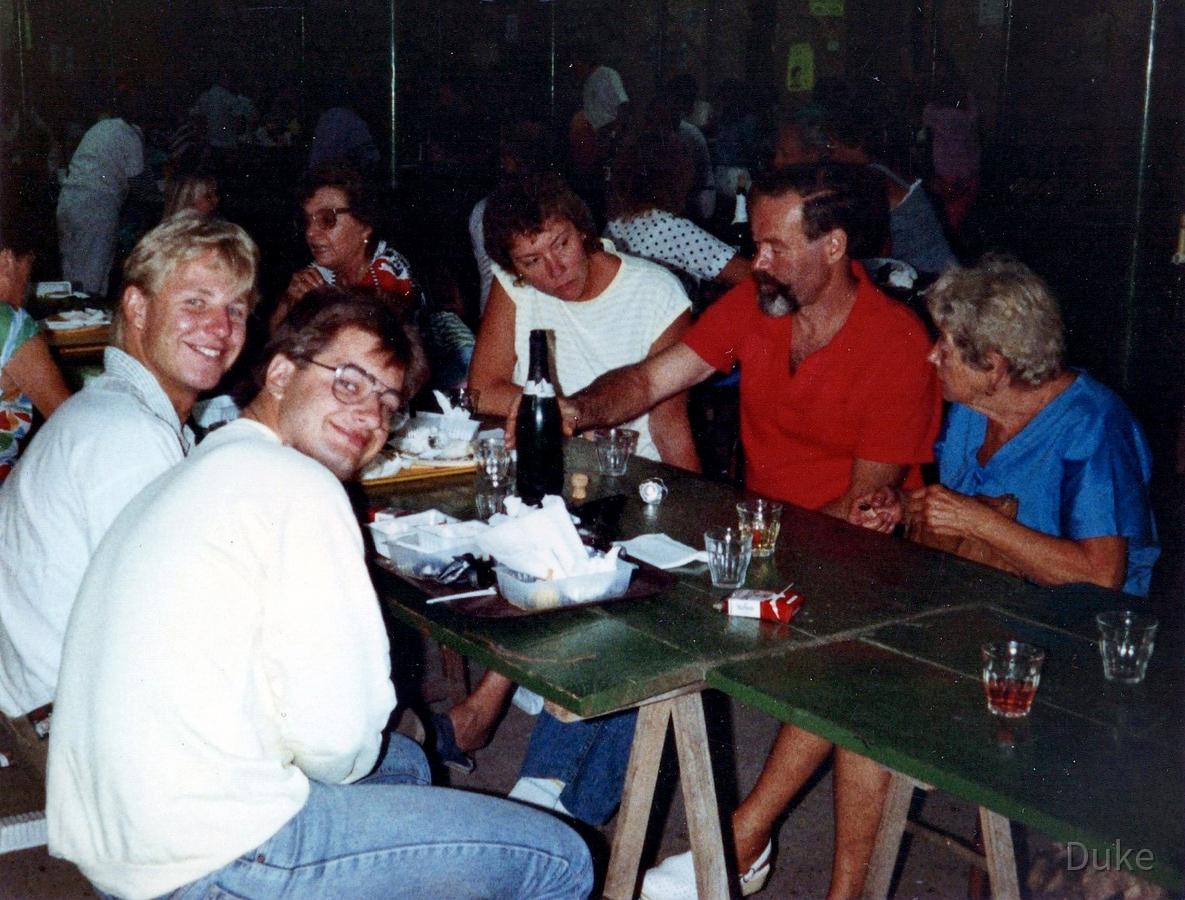Sète - Frankreich - 1988 - Campingplatz