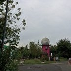 Berlin - Teufelsberg - Field Station - Radome Pink - Graffiti Car