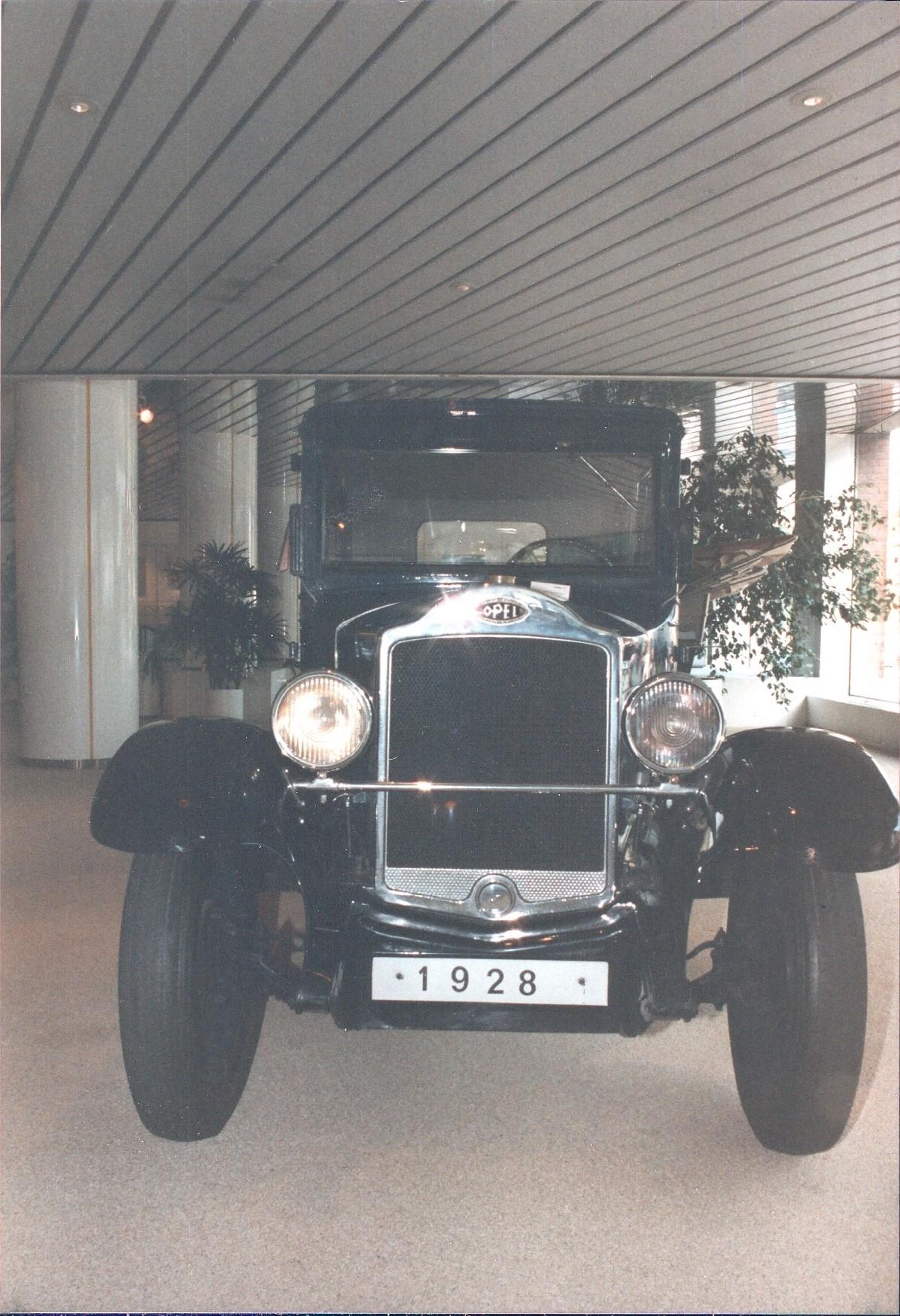 Opel Auto von 1928