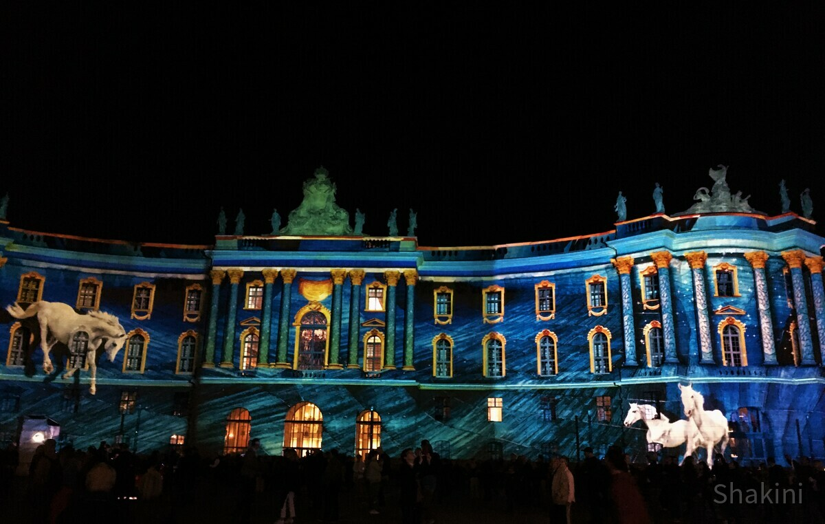 Humbold Universität - Festival of Lights 2019