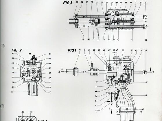 Punktschweißgerät aus Rüsselsheim Adam Opel AG - Technische Zeichnung - 3