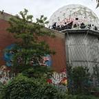 Berlin - Teufelsberg - Field Station - Nebengebäude mit Radom