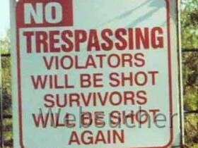 Trespassing-Violators