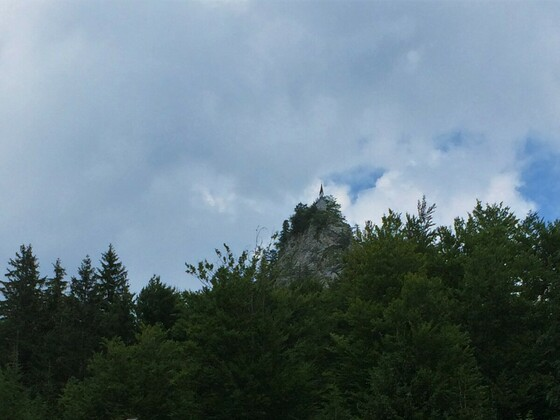 Riederstein 1207m- kleine Kapelle