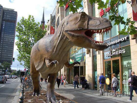 Dinosaurier -  Schloßstraße - Berlin-Steglitz