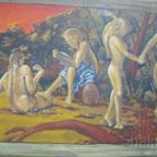 East Side Gallery - Berlin - Graffitis - Urzeitmenschen