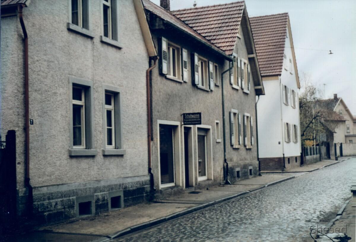 Schuhhaus Ackermann - 1961 - Rüsselsheim-Königstädten - Georg-Bärsch-Straße