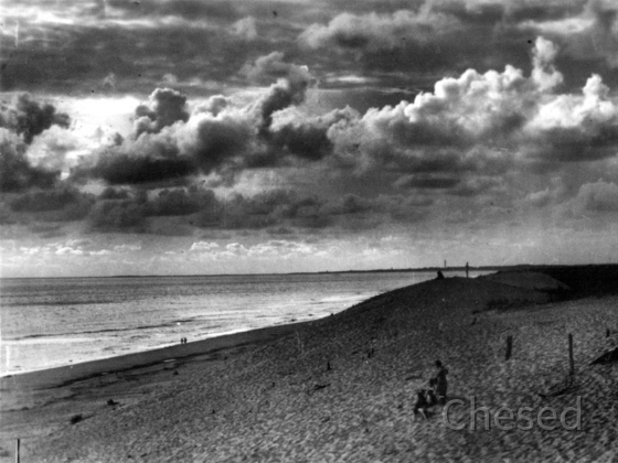 Royan 1940 - LA GRANDE COTE - Effet de nuages