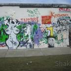 East Side Gallery - Berlin 2013 - Graffitis Berlin - Geiles Nacktes Paar
