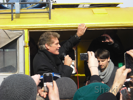 David Hasselhoff - Berlin - East Side Gallery - 05