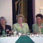 Klassentreffen 2001 Zentralschule Lehnin - Monika, Ingrid, Irmhild