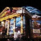 Festival of Lights - St.Hedwig Kathedrale