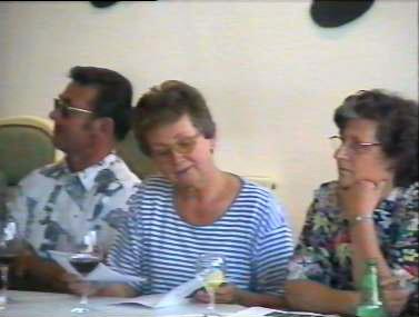Klassentreffen 2001 Zentralschule Lehnin - Werner, Ingrid, Gerda
