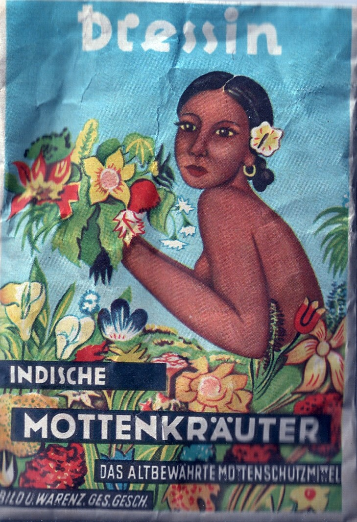 Mottenpulver - Indische Mottenkräuter - Dressin
