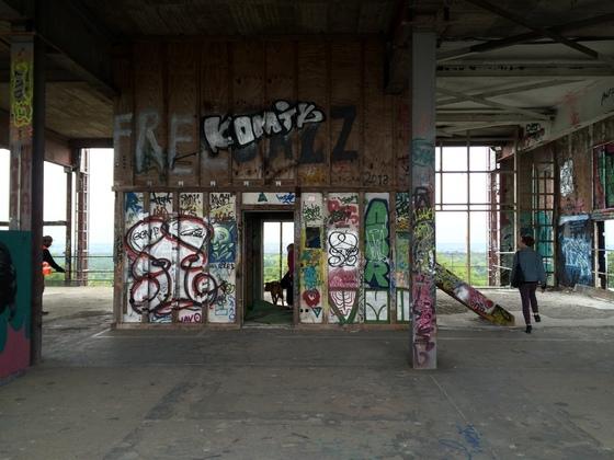 Berlin - Teufelsberg - Field Station - Sanitärbereich Ruine