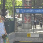 U-Bahn - Kurfürstendamm - Berlin