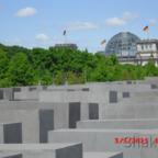 Holocaust-Mahnmal im Berliner Tiergarten