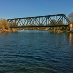 Eisenbahnbrücke in Caputh