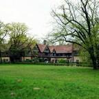 Schloss Cecilienhof - Seitenansicht