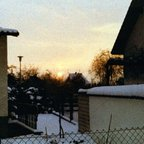 Wintersonne in Nauheim - 1983