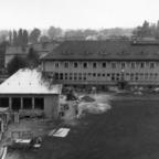 Feuerwehr Königstädten - Maschinistenlehrgang Kassel 1958 - Blick vom Turm