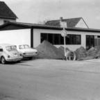 Feuerwehr Königstädten - Bau Feuerwehrgerätehaus + Pavillon 1970