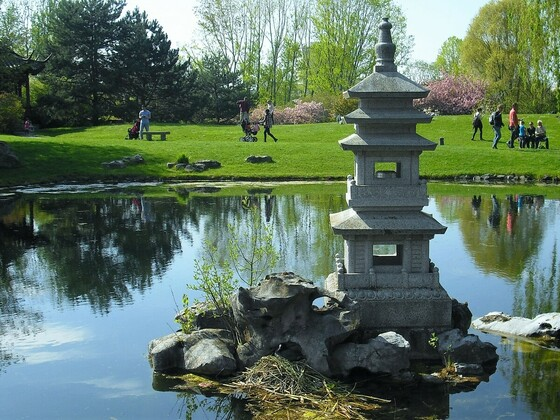Chinesicher Garten - See