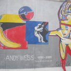 East Side Gallery - Berlin - Graffitis - Andy Weiss