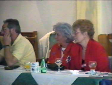 Klassentreffen 2001 Zentralschule Lehnin - Ingrid, Erika