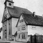 Evangelische Kirche Nauheim ca. 1930