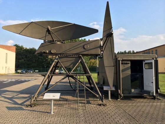 Flugsicherungstechnik PAR-C - Radaranlage