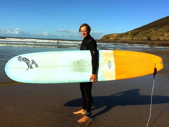 Sven - Surfing in Bristol (Saunton Beach-Croyde)