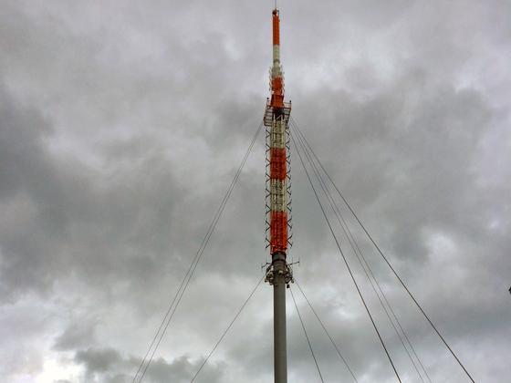 Großer Feldberg - Taunus - Feldbergstation HR-Rundfunkantenne