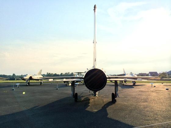 MiG Jagdflugzeug - DDR - Strahltriebwerk