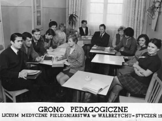 Grono Pedagoiczne - Liceum Medyczne w Wałbrzych